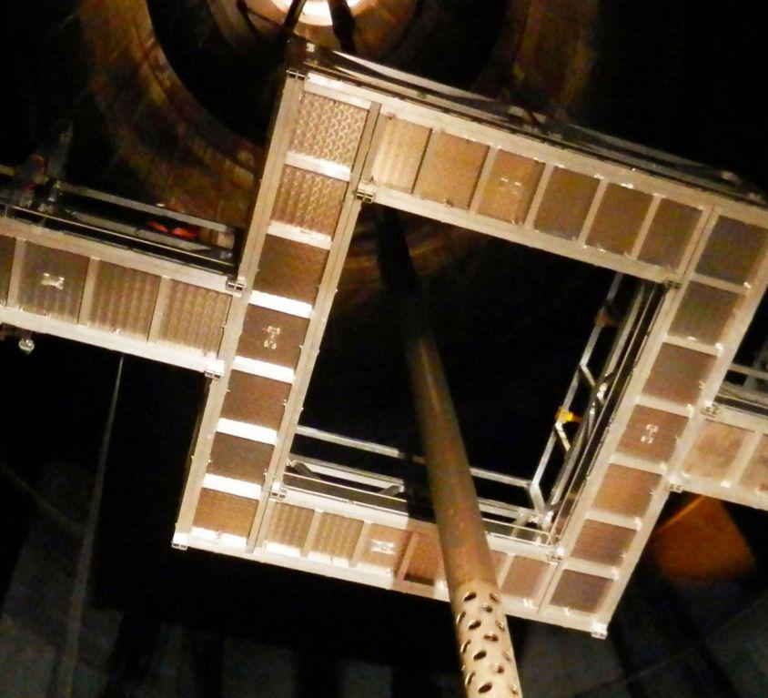 Plataforma especial para digestor en industria papelera