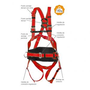 Accesus - Arneses de Seguridad - Cinturón de Posicionamiento - A50_4