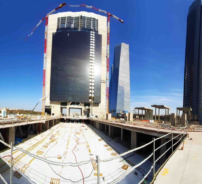 Accesus - Proyectos - Construcción Torre Caleido Madrid