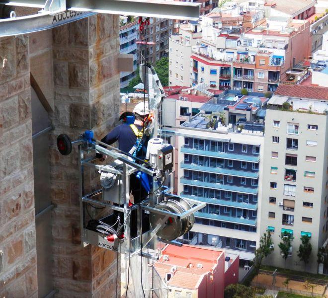 Accesus - Proyectos - Construcción / mantenimiento de la Sagrada Família_2