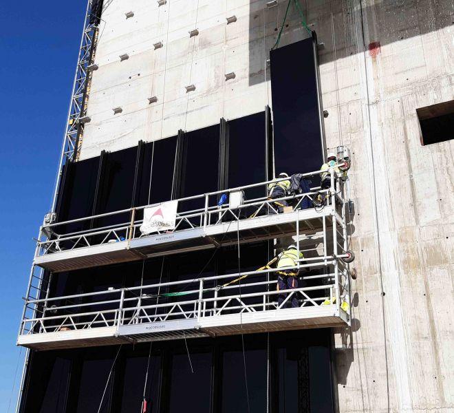 Accesus - Proyectos - Construcción Torre Caleido Madrid_3