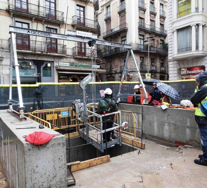 Accesus - Proyectos - Obras en el pozo del metro_6