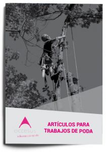 folleto de artículos para poda Accesus